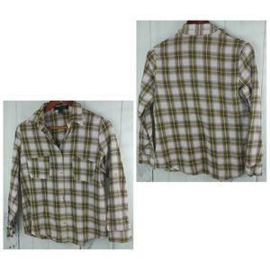 🌴3/$20 Forever 21 Womens Long Sleeve Plaid Shirt